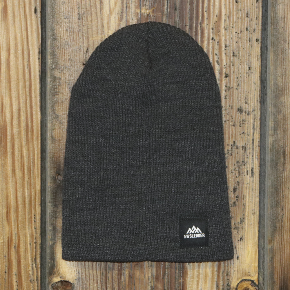 dbfd21ed681 Slouch Beanie – Heather Charcoal – NWSledder